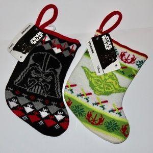 Star Wars Mini Gift Stockings NWT